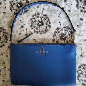 KATE SPADE ROYAL BLUE WRISTLET~GORGEOUS COLOR!